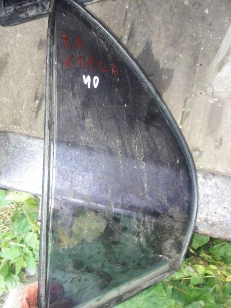 Форточка двери Toyota Tercel EL41, EL43, EL44, EL45 4EFE, 5EFE 1993