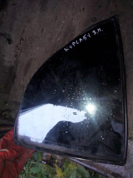 Форточка двери Toyota Corsa EL51, EL53, EL50 4EFE, 5EFE 1999