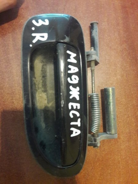 Ручка двери внешняя Toyota Crown Majesta UZS141 1993 задняя правая