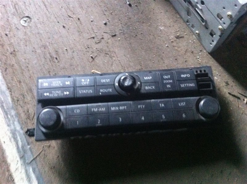 Магнитола Nissan Pathfinder 51