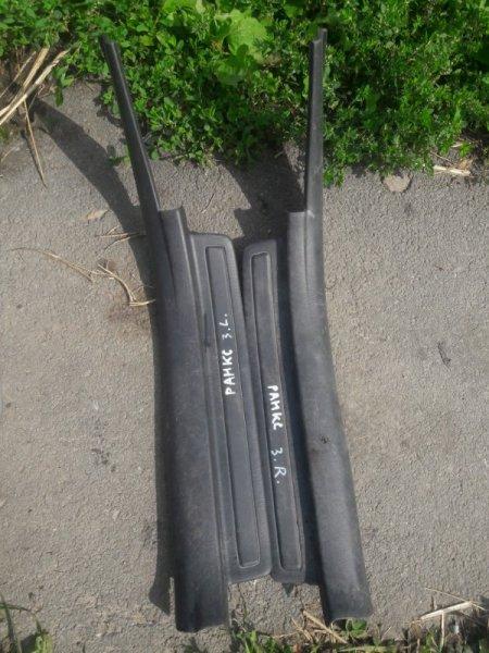 Пластик обшивка салона Toyota Corolla Allex NZE121, NZE122, ZZE121, ZZE122 1NZFE, 1ZZFE 2001
