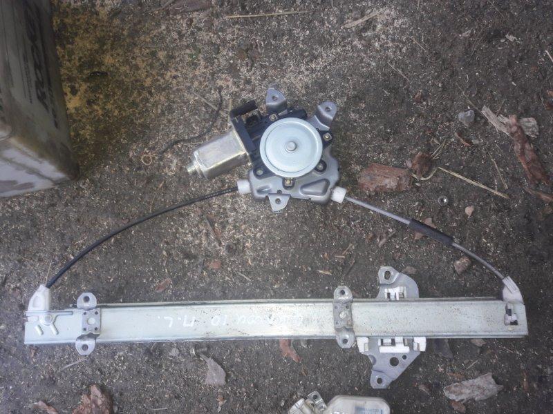 Стеклоподъемный механизм Nissan Bluebird Sylphy FG10 QG15DE 2002 левый