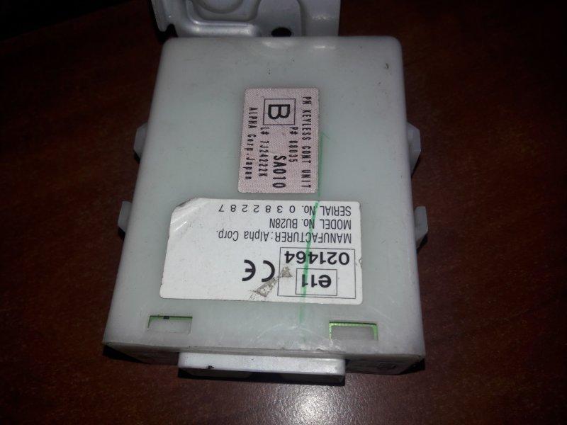 Блок управления центральным замком Subaru Forester SG5, SG9 EJ20 2006