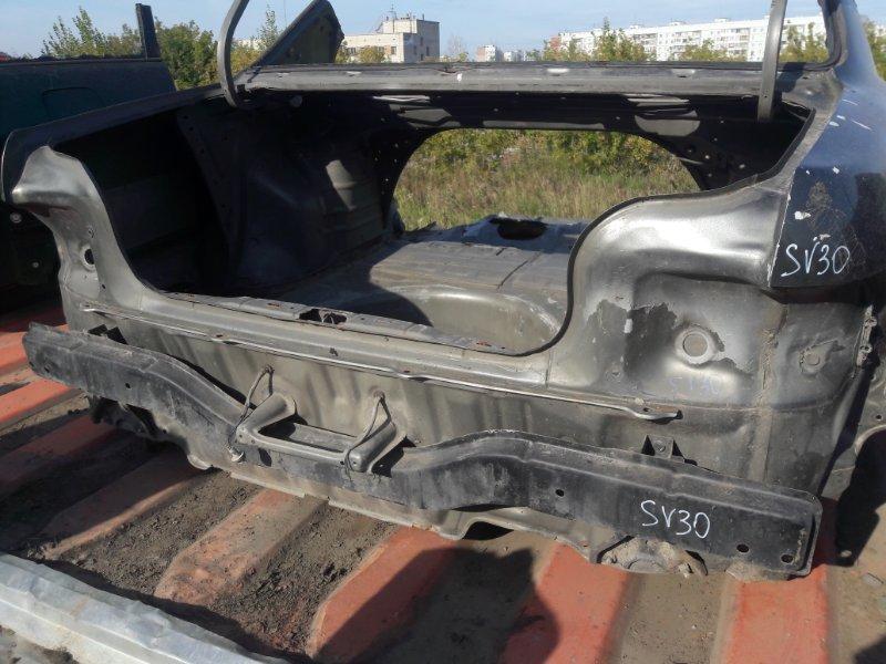 Полка багажника (задняя панель) Toyota Camry SV35, SV30, SV32, SV33 3SFE, 4SFE 1992