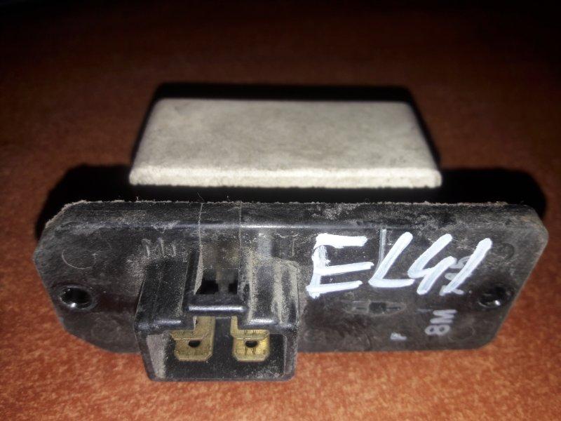 Резистор реостат отопителя печки-сопрортивление мотора печки Toyota Tercel EL41, EL43, EL44,