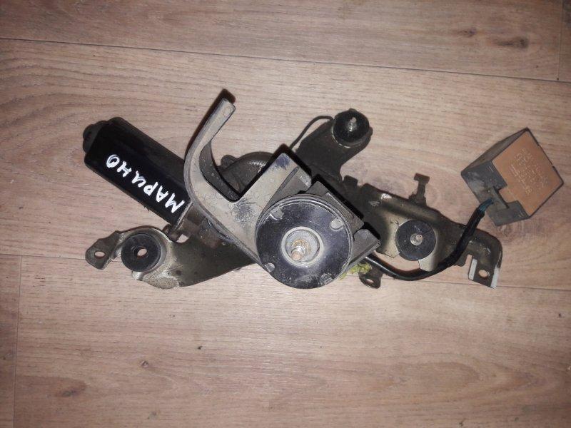 Мотор дворников двигатель стеклоочистителя Toyota Sprinter Marino AE101, AE100 4AGE, 4AFE, 5AFE 1993 задний
