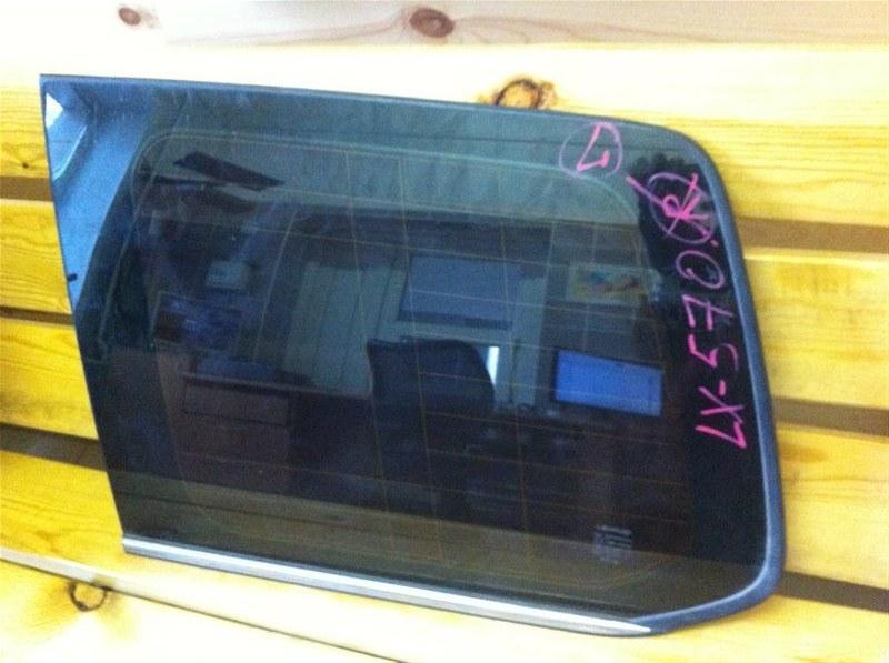 Стекло собачника Lexus Lx570 200 левое