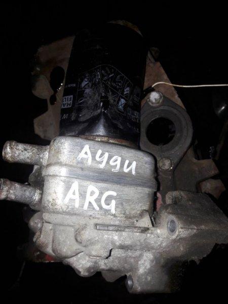 Радиатор масляный Audi A4 B5 УНИВЕРСАЛ ARG 1.8 НЕ ТУРБО 2000