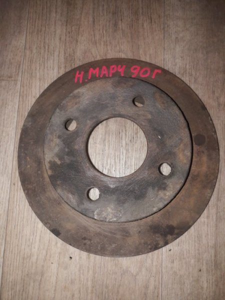 Тормозной диск Nissan March EK10 K10 1990
