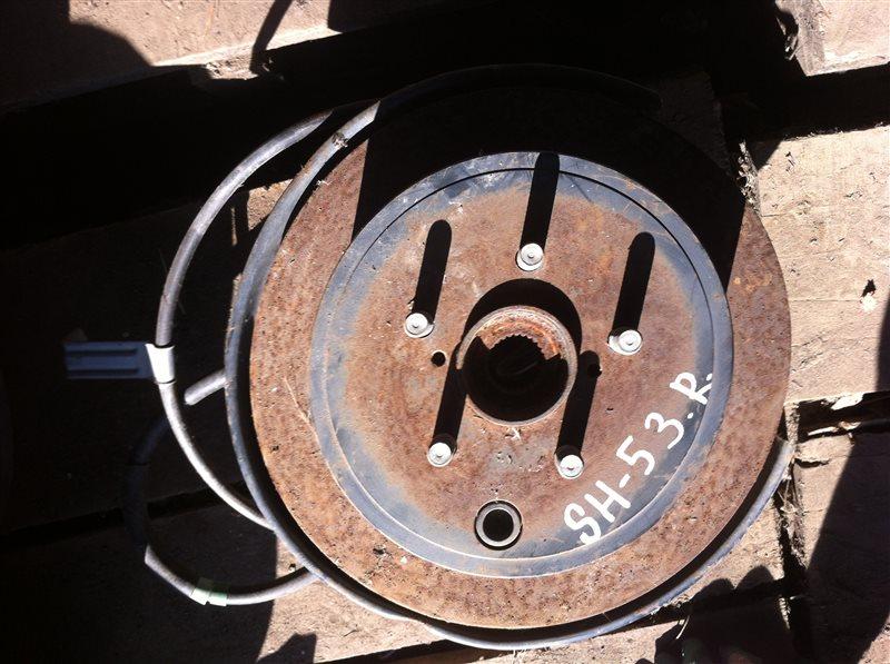 Ступица Subaru Forester SH5 задняя