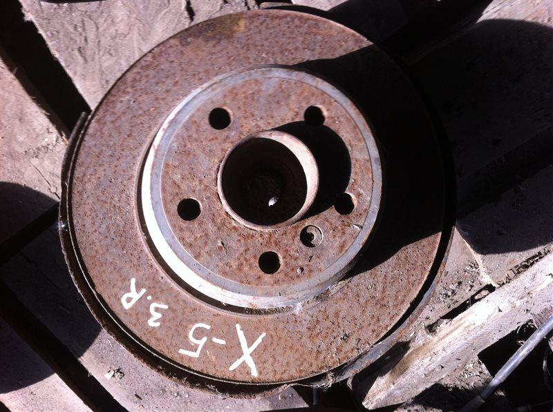 Ступица Bmw X5 53 задняя