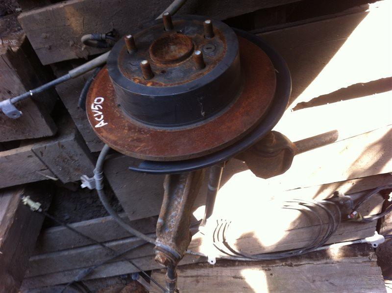 Ступица Toyota Camry ASV50 задняя