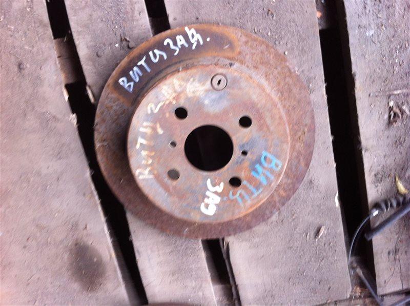 Тормозной диск Toyota Vitz 10 1NZ задний