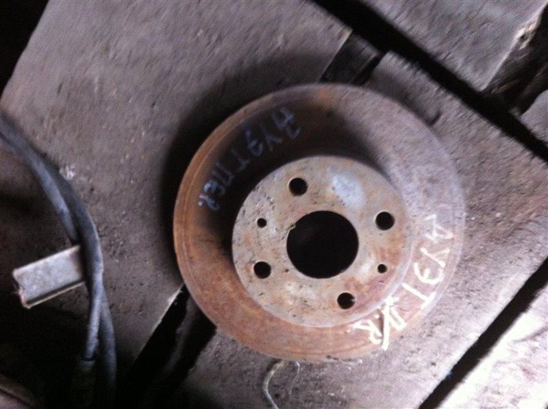 Тормозной диск Toyota Duet передний