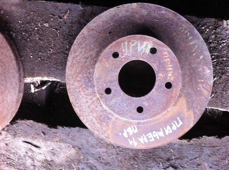 Тормозной диск Nissan Primera 11 передний