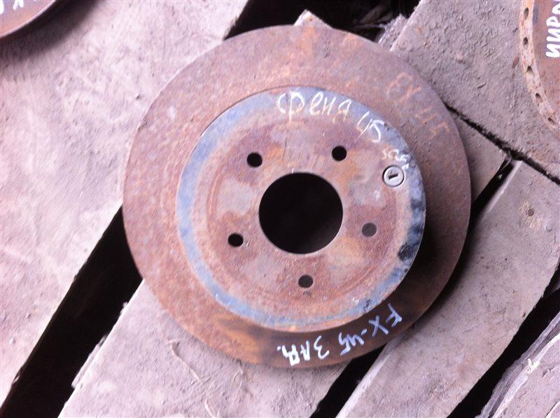 Тормозной диск Infiniti Fx45 50 задний