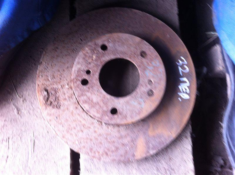 Тормозной диск Nissan Cefiro 32 передний