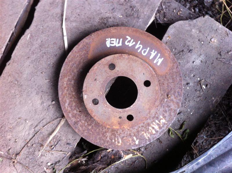 Тормозной диск Nissan March 12 передний