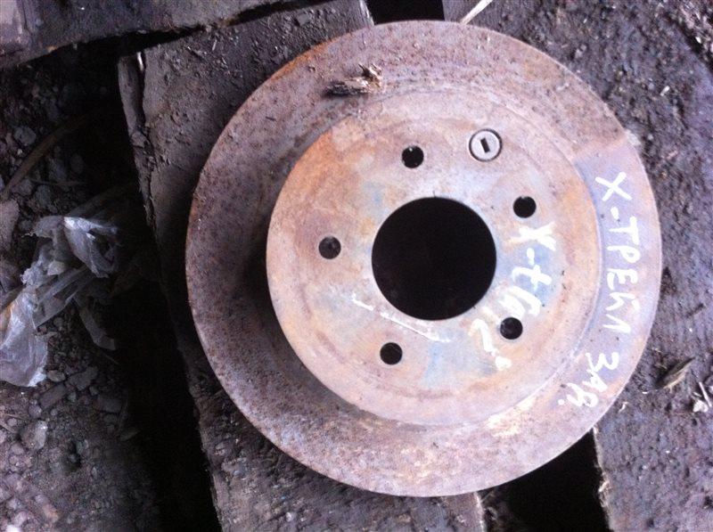 Тормозной диск Nissan X-Trail 30 задний