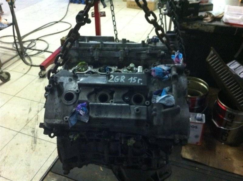 Двигатель Toyota Highlander 70 2GR 2015