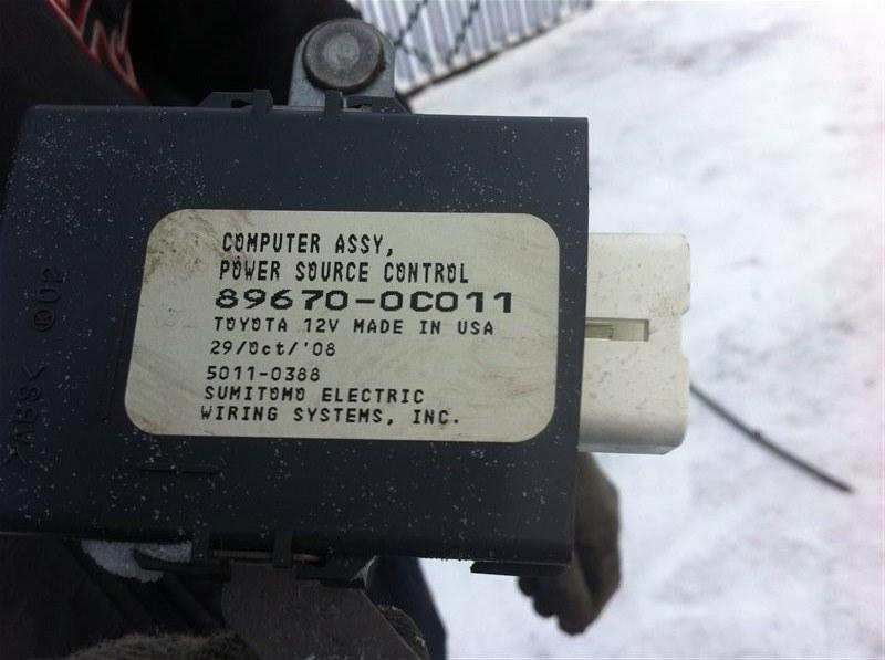 Контроллер усилителя руля Toyota Sequoia 60 3UR 2010
