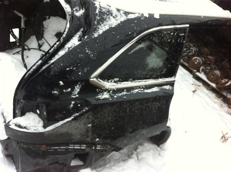 Крыло Toyota Highlander 70 2GR 2015 заднее правое