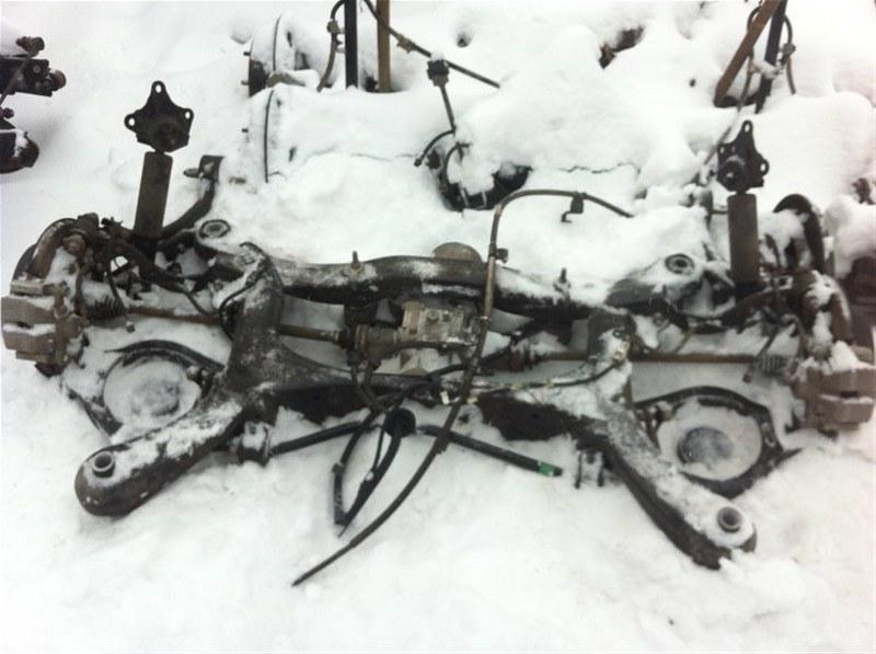 Ходовая часть Toyota Highlander 70 2GR 2015 задняя