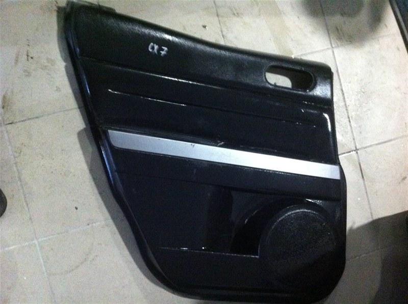 Обшивка двери Mazda Cx7 задняя