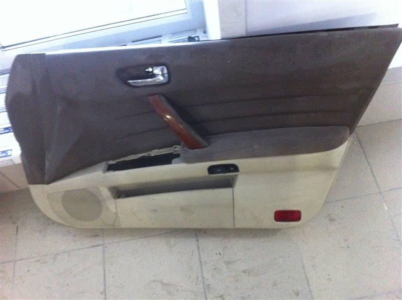 Обшивка двери Nissan Teana 31 передняя правая