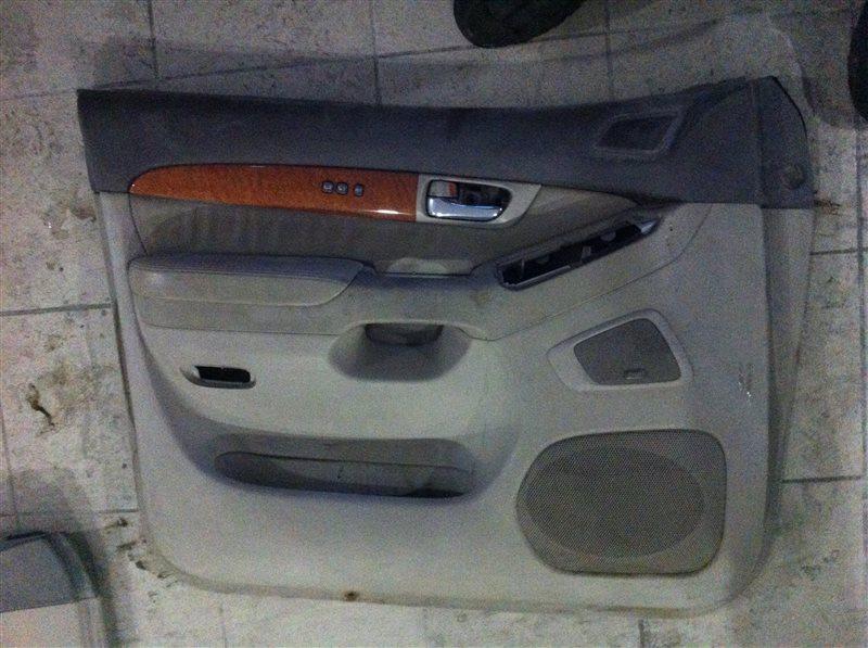 Обшивка двери Lexus Gx470 120 передняя левая
