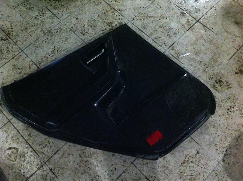 Обшивка двери Nissan Murano 50 задняя левая