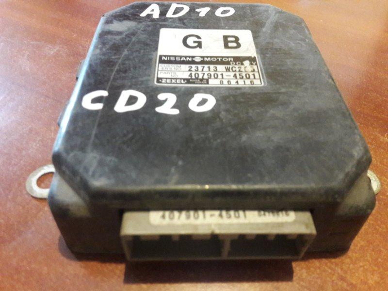 Блок управления двс, бортовой компьютер Nissan Ad Y10 CD20 1993