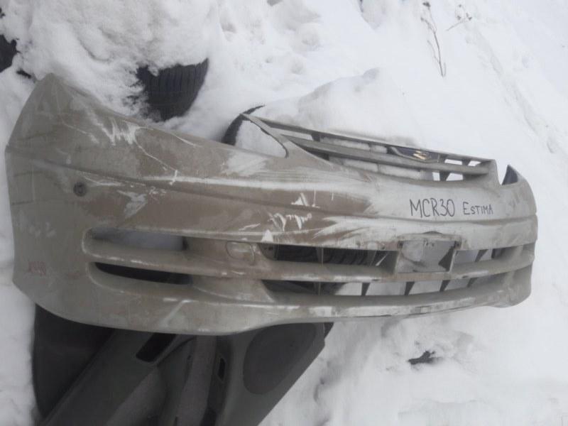 Бампер Toyota Estima MCR30 40 AHR10 2005 передний