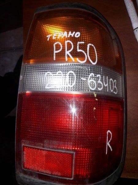 Стоп Nissan Terrano 50 1998 правый