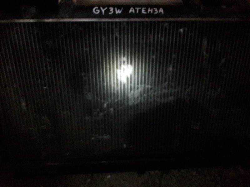 Радиатор двс охлаждения двигателя Mazda Atenza GG3P GG3S GGEP GGES GYEW GY3W 2005