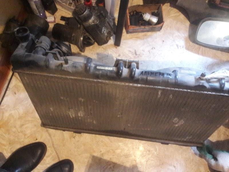 Радиатор двс охлаждения двигателя Nissan Almera N15 1999