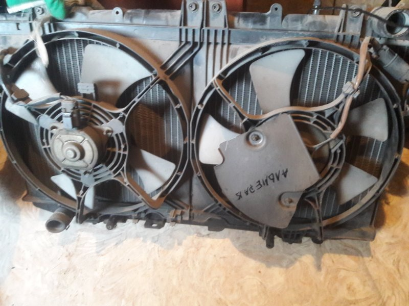 Вентилятор охлаждения радиатора Nissan Almera N15 1999