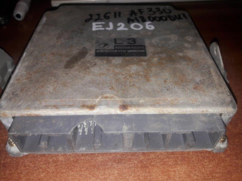 Блок управления двс, бортовой компьютер Subaru Legacy BE5, BH5 EJ20TT 2000