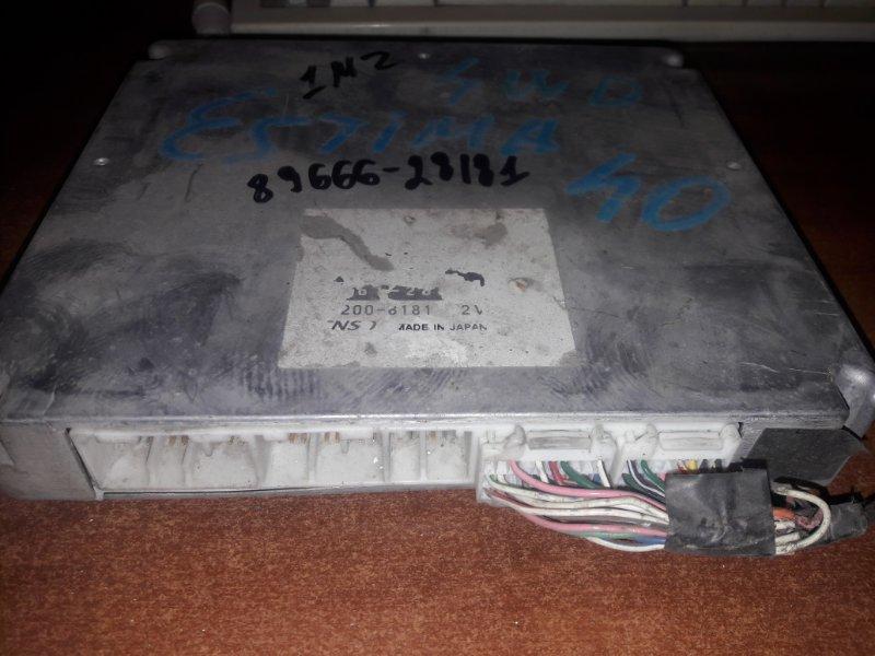 Блок управления двс, бортовой компьютер Toyota Estima MCR40 1MZFE 2004