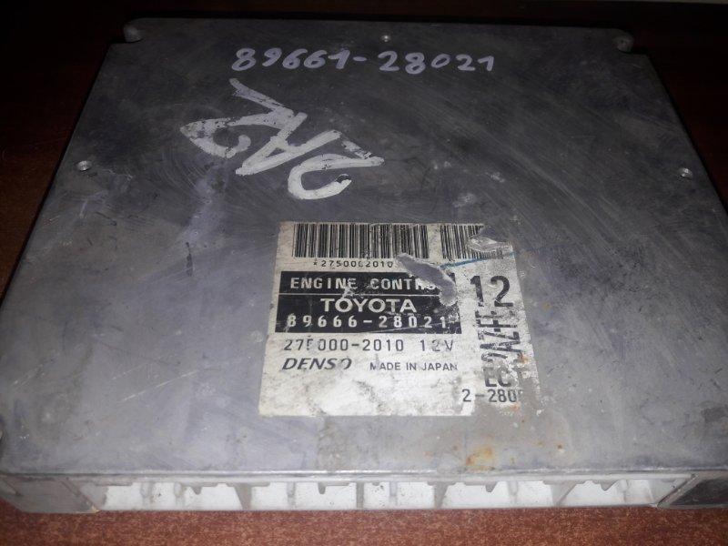 Блок управления двс, бортовой компьютер Toyota Estima ACR40 2AZFE 2005