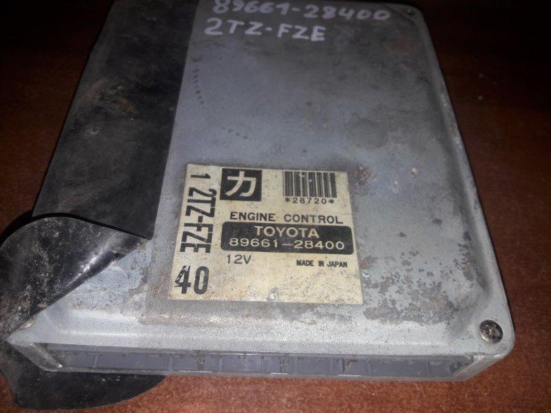Блок управления двс, бортовой компьютер Toyota Estima TRC10 2TZFE