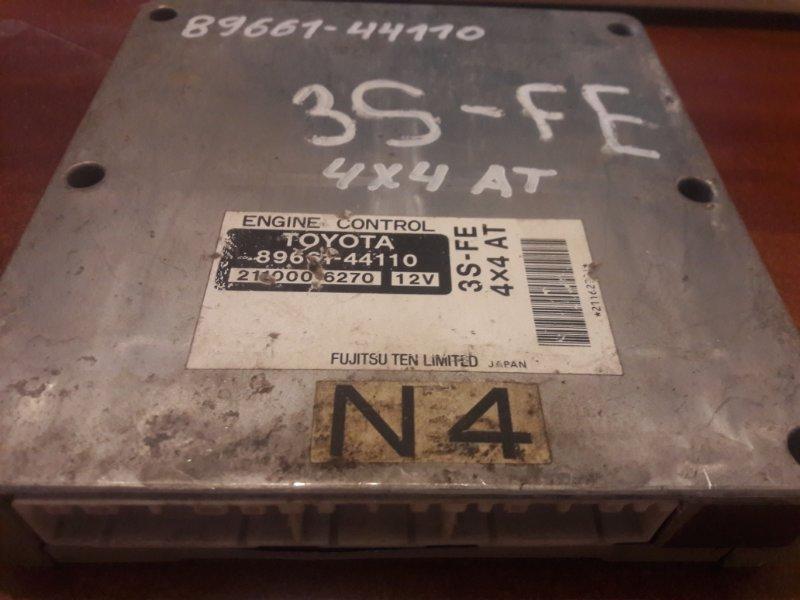 Блок управления двс, бортовой компьютер Toyota Ipsum SXM15 3SFE