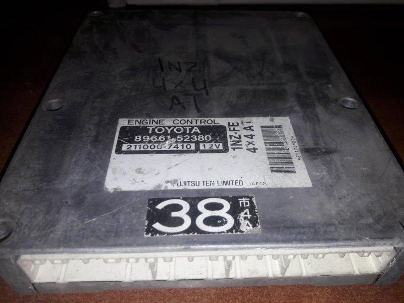 Блок управления двс, бортовой компьютер Toyota Funcargo NCP25 1NZFE