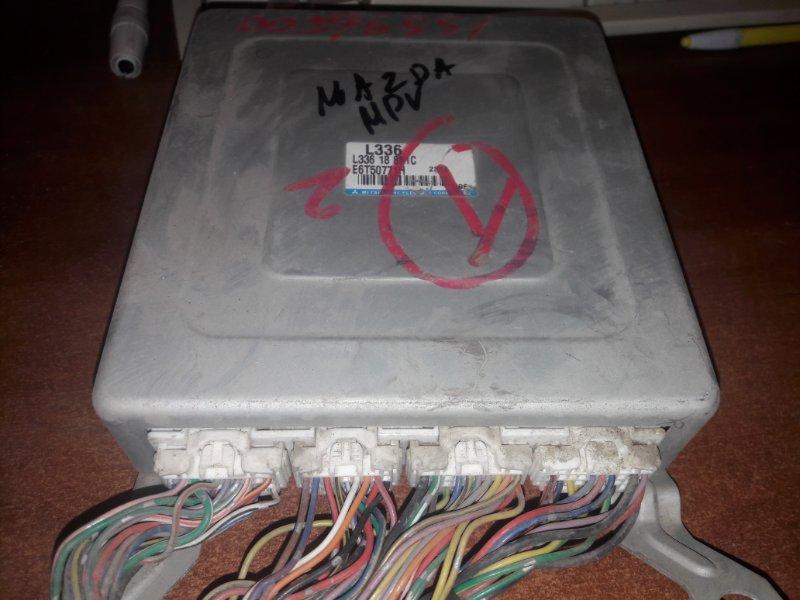 Блок управления двс, бортовой компьютер Mazda Mpv L3