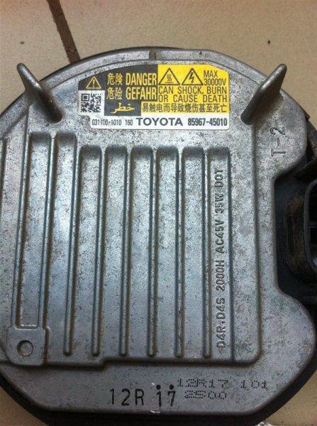 Блок ксенона Toyota Land Cruiser 200 1VD 2015