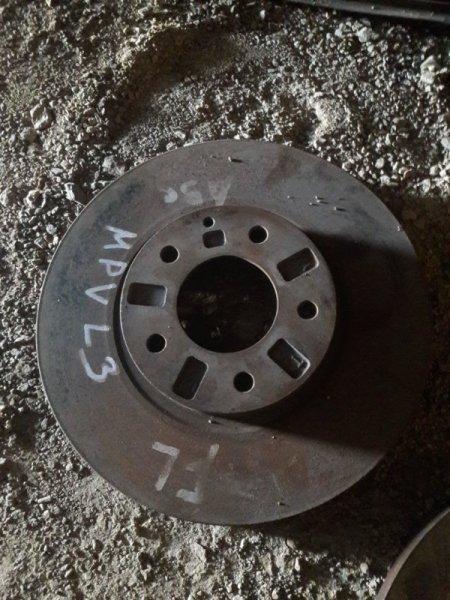 Тормозной диск Mazda Mpv LW3W LW5W L3 2001 передний