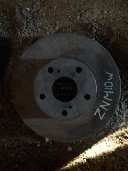 Тормозной диск Toyota Isis ZNM10 2007 передний