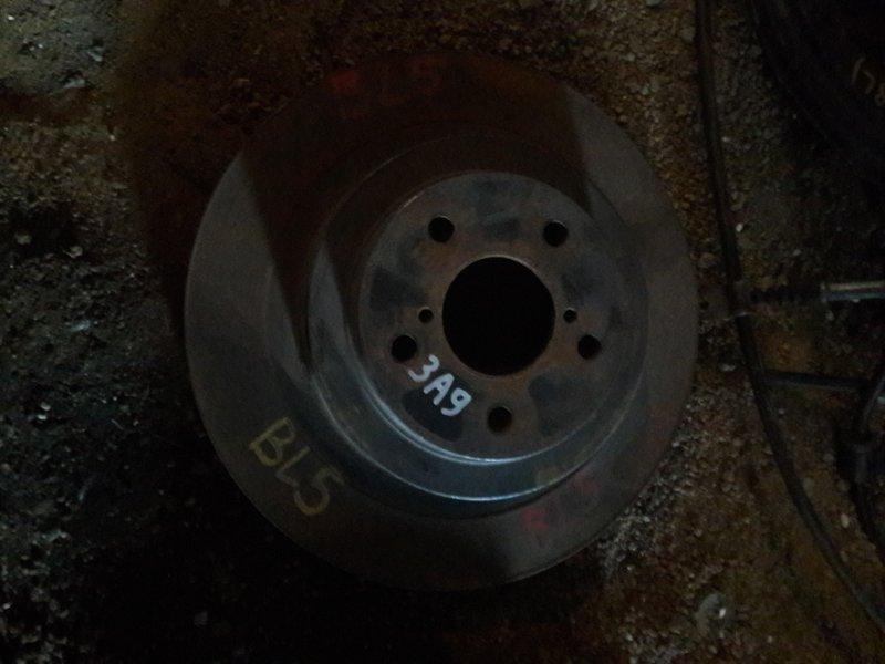 Тормозной диск Subaru Legacy BL5 BL9 2005 задний