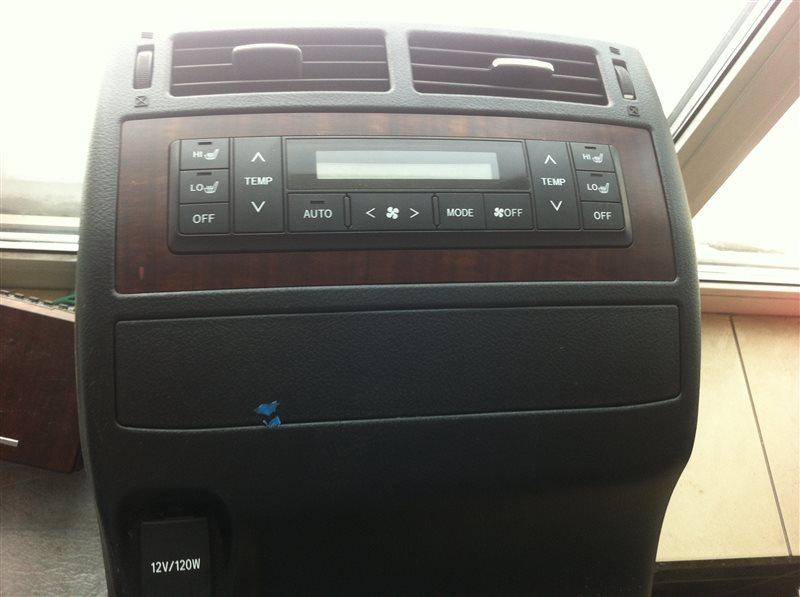Блок управления климат-контролем Toyota Land Cruiser 200 1VD 2015