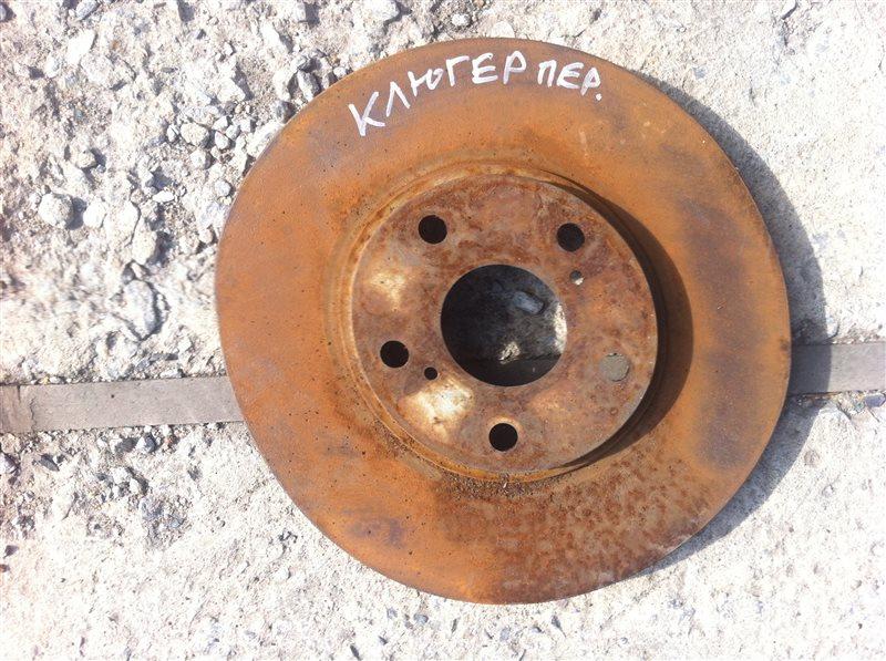 Тормозной диск Toyota Kluger 20 2004 передний